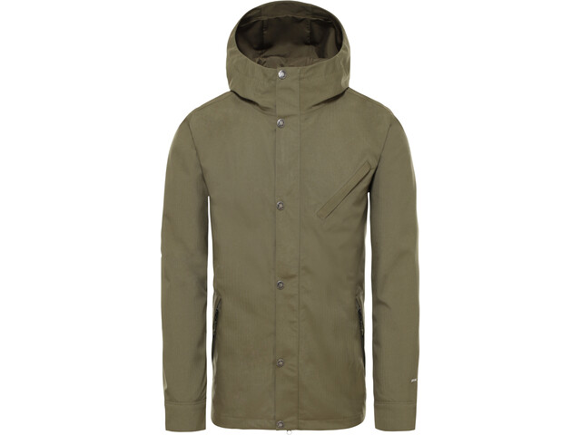 The North Face Shellmound Shell Jacket Men burnt olive green